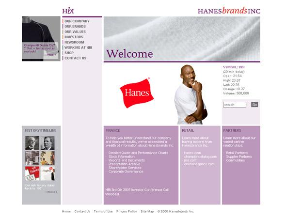 Hanesbrands_Corporate